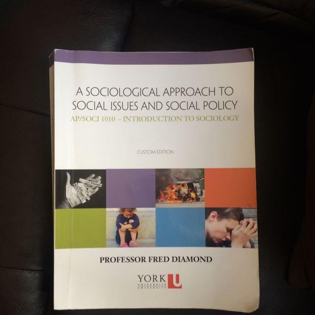 York University Sociology Textbook: AP/SOCI 1010 (First Year)