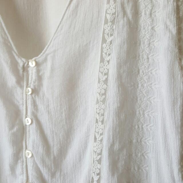 Zara Peasant Top With Detailed Embroidery