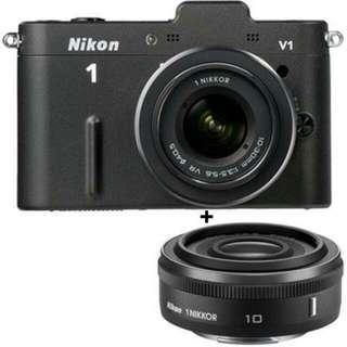 Looking for 10mm Lens for NIKON V1