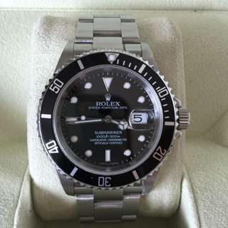 WTS Discontinued Rolex Submariner 16610 D-Series
