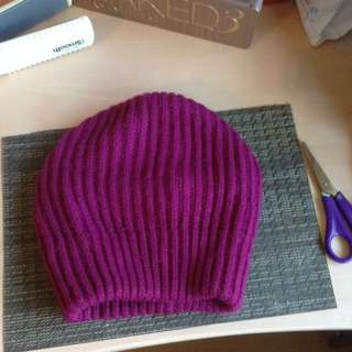 Deep Pink Winter Hat