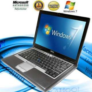 Details about  DELL Latitude Laptop Computer Windows Core 2 Duo 40GB DVD WiFi Notebook HD