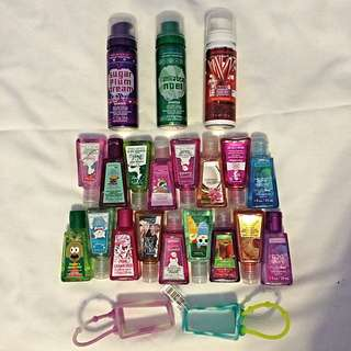 🛍Bath & body works hand sanitizer collection