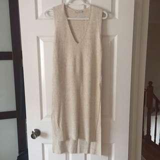 Zara Side-split Knit Top