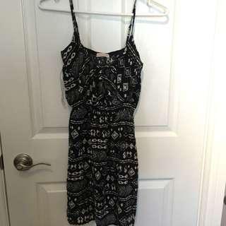 Black/White summer dress