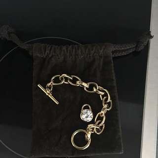 Michael Kors Gold Bracelet For Sale
