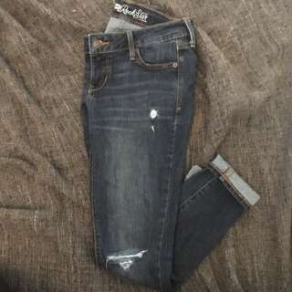 Old Navy ripped jeans!
