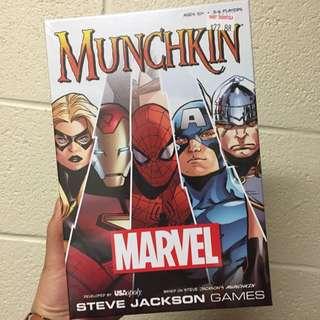 *reserved* Munchkin (Marvel)