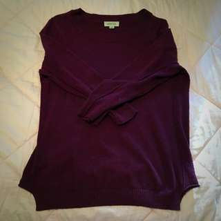 Merlot Coloured Sweater