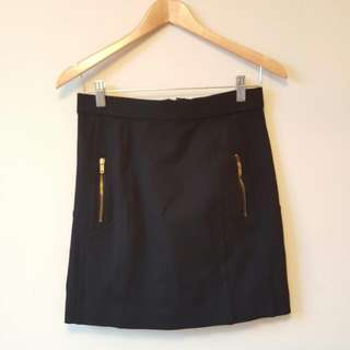Marc By Marc Jacobs Black Mini Skirt
