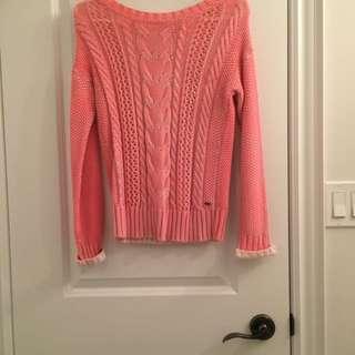 Garage Pink Sweatshirt