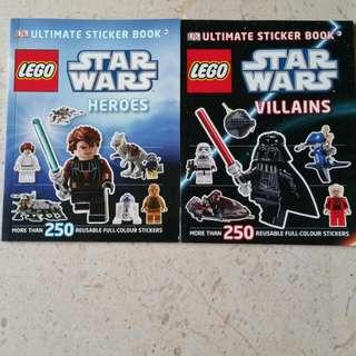 Lego  Star Wars Ultimate Sticker Book