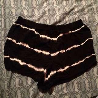 Forever 21 tie dye shorts