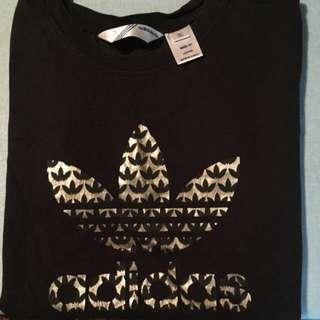 Adidas Gold Foil Logo Shirt