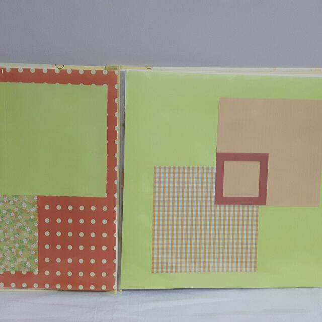 10 Handmade Scrapbooking Sheets