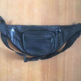 Reclaimed Vintage Leather Bum Bag