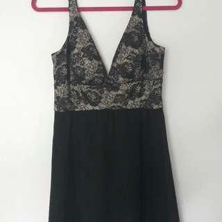 Black & Lace Dress