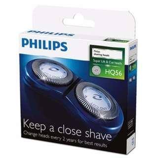 🚚 全新免運 PHILIPS飛利浦 刮鬍刀片(2入裝)HQ4 HQ5 HQ3 HQ53替代型號 HQ56~適用PQ226/HQ6976