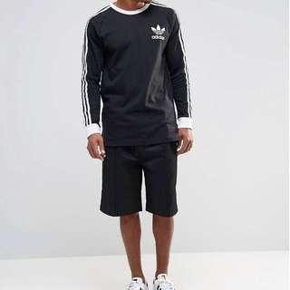 3 Stripes Adidas Original Shirt Long Sleeves