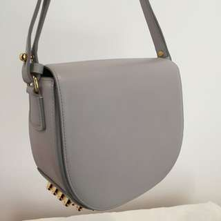 Authentic Alexander Wang Small Lia In Grey
