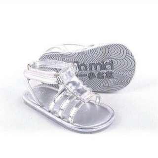 Straps Sandal Silver