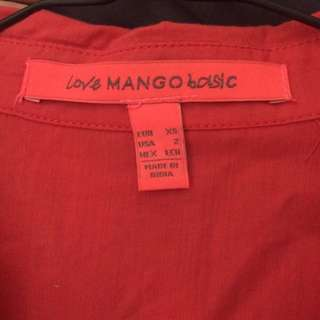 pink top by Mango
