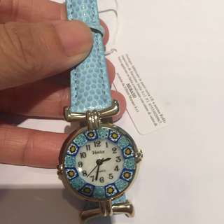 Italy Venice Murano Glass Millefiori Watch Prada Links Balenciaga