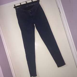 Skinny High Wasted Jeans