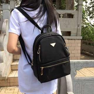 💦韓國簡約防潑水雙肩牛津布後背包