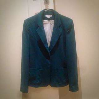 Smart Jacket Teal Colour