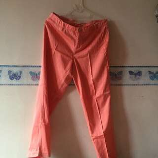 [Forever21] Coral Trousers