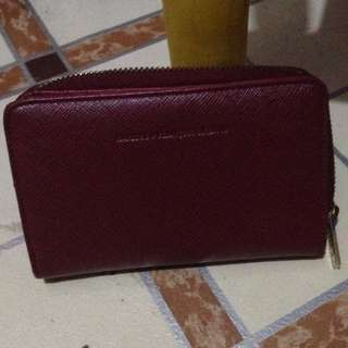 girbaud wallet red