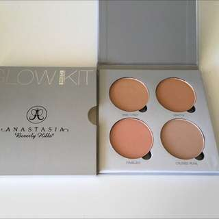 "Authentic Anastasia Beverly Hills Glow Kit In ""Gleam"""