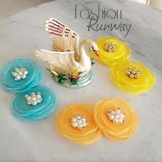 DISKON Flower Shoe Clips