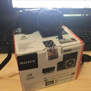 Sony A5000 for sell