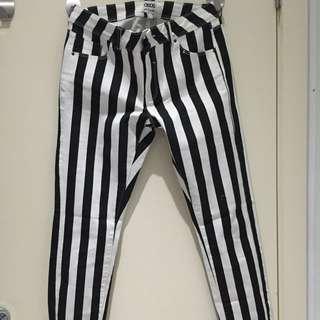 Long Stripy Pants