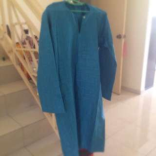 Baju Kurung/ Torquoise Blue