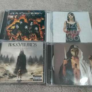 Black Veil Brides And Bring Me The Horizon Albums