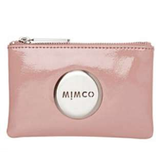 BRAND NEW WITH TAG MIMCO LOTUS PINK LEATHER POUCH