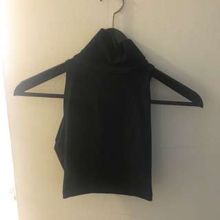 American Apparel Crop Turtleneck