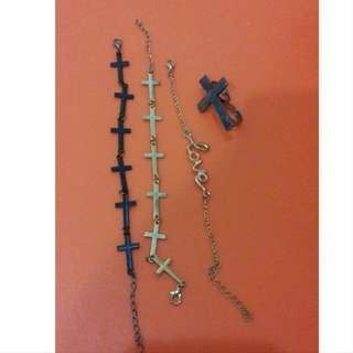 Black, Silver & Gold Accessories