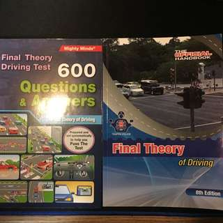 Final Theory Driving Books