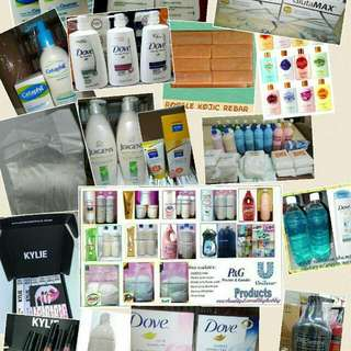 Detergent Powder, Soaps, Shampoo, Cetaphil, Lotion, Dishwashing Liquid, Downy And Conditioner