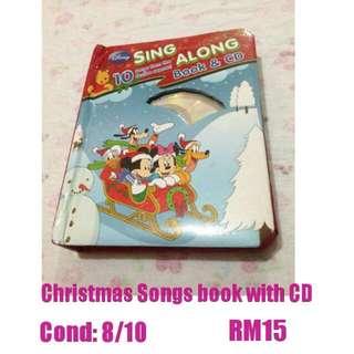 Disney Christmas Songs book