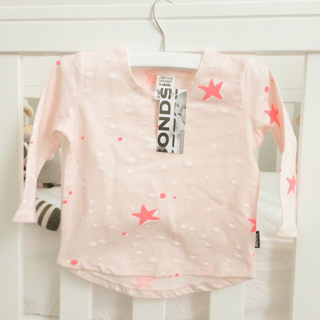 3-6 mths Bonds Long Sleeve Top