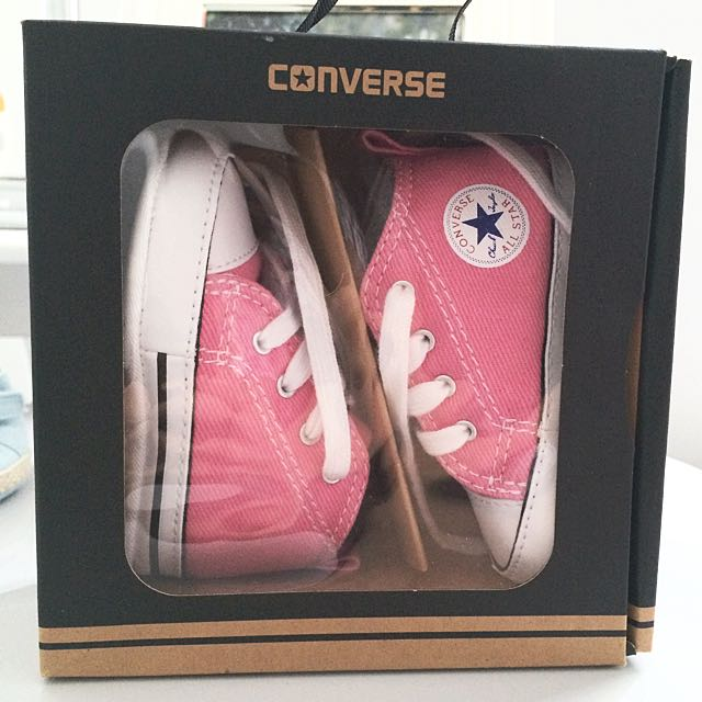 Sold Pending - 3-6 mths Converse Pink Shoes