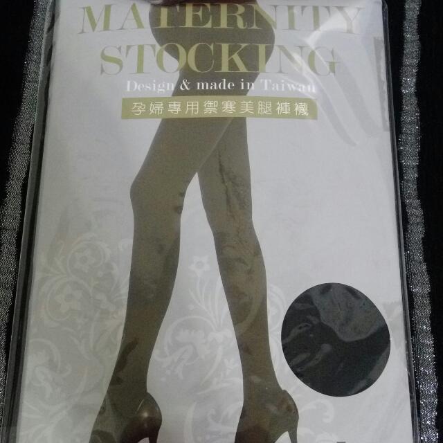 👠孕婦專用禦寒美腿褲襪【免運】