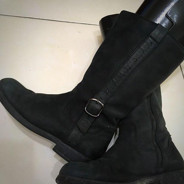 英國 Clarks 女童靴