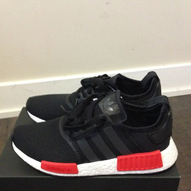 Adidas NMD BRED colour way