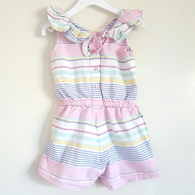 (Reserved) Adorable Little Romper (3-6mos)